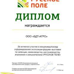 Диплом-Русское-поле-2016-Краснодар