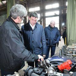 Глава Евгений Первышов на заводе БДТ-АГРО, Краснодар
